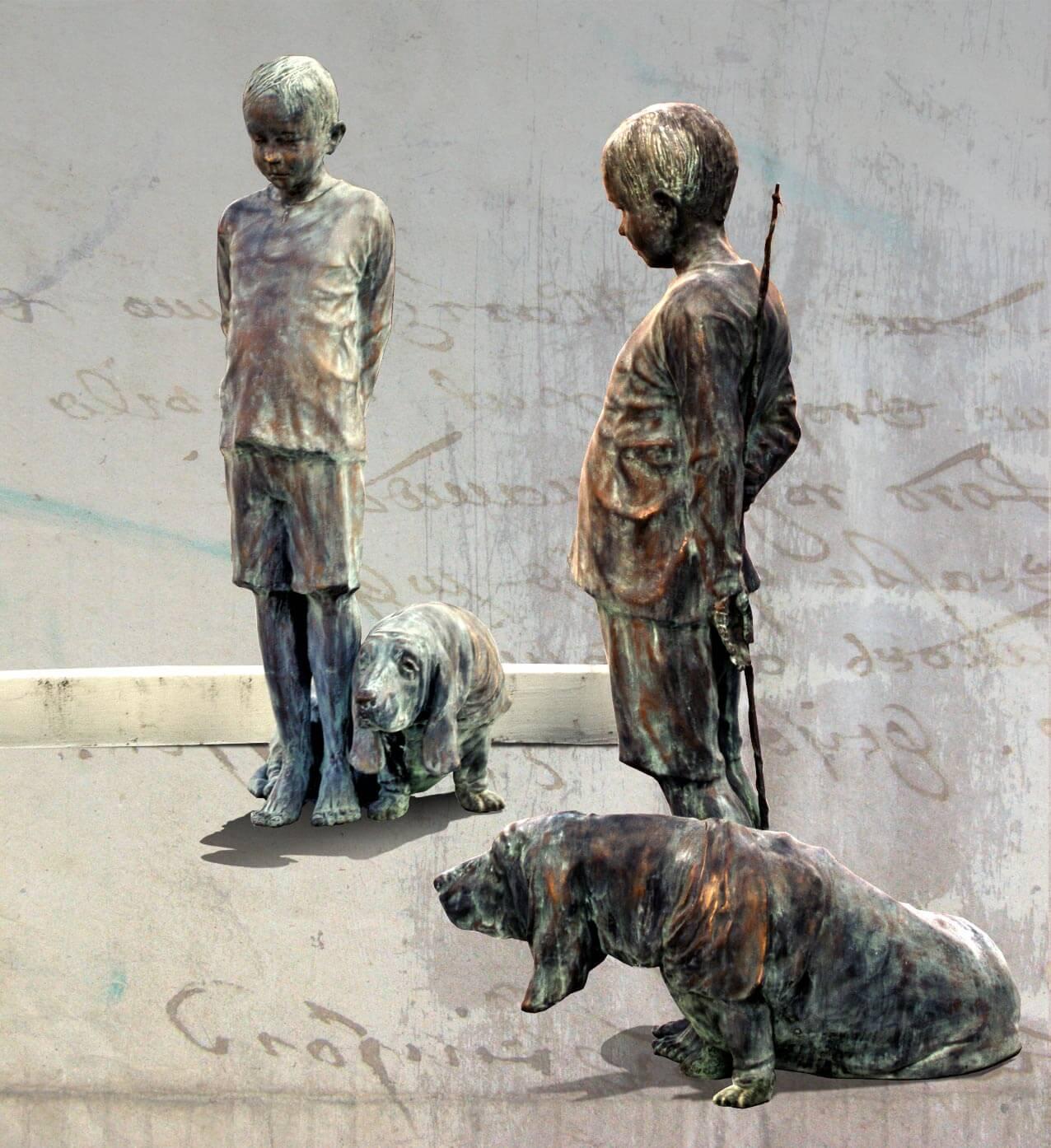 FOUNTAIN - rzeźby na terenie Zielonych Ogródków w Poznaniu