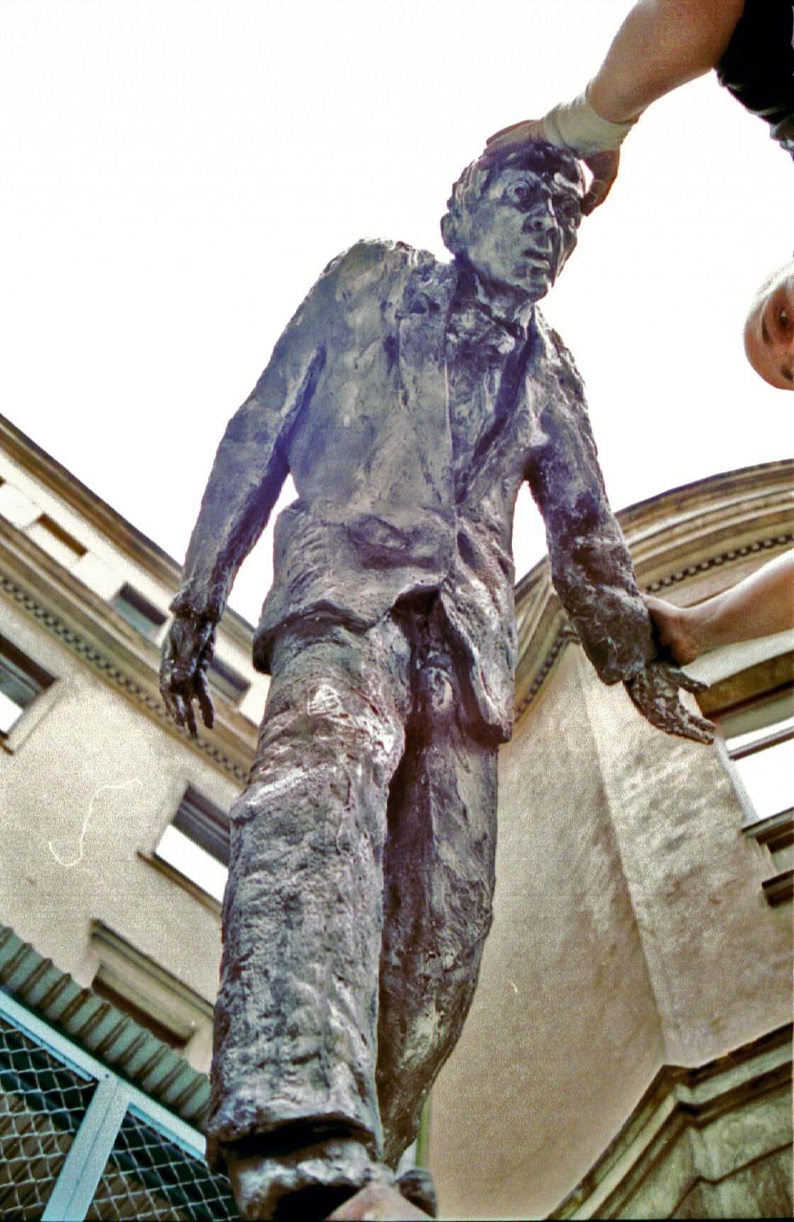 Rzeźba ogrodowa by Norbert Sarnecki